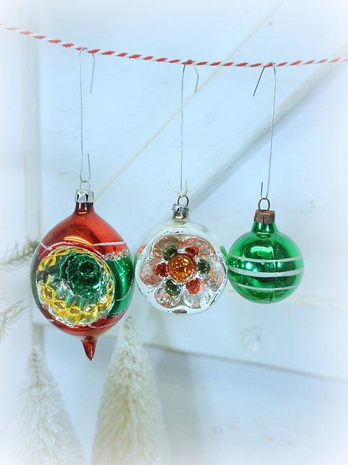 Vintage Ornaments Set 3
