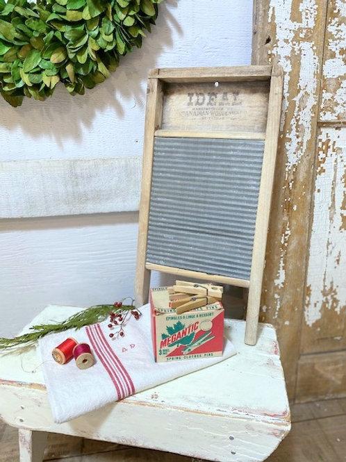 Small Antique Wash Board
