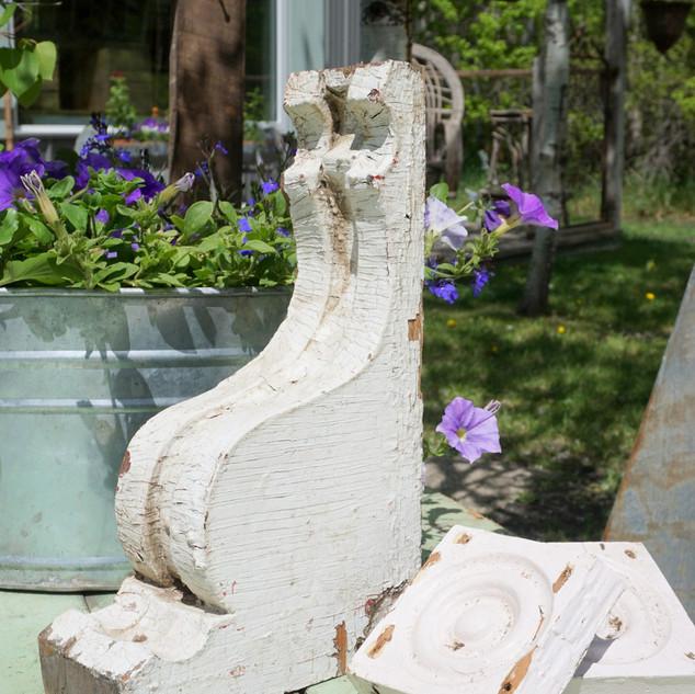 Salvaged Antique Corbels