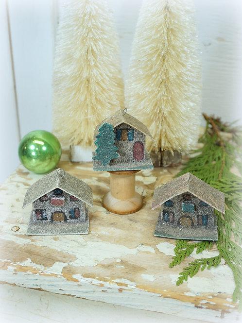 Mica Cardboard Houses