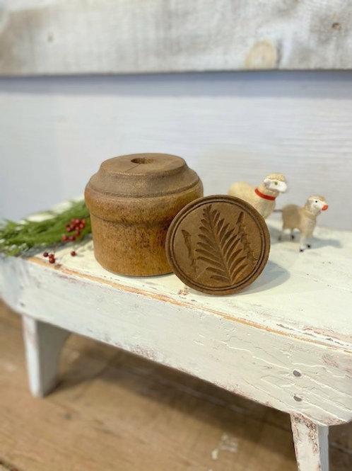 Antique Primitive Butter Press
