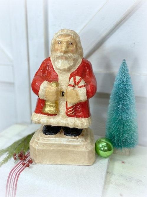 Paper Mache Santa