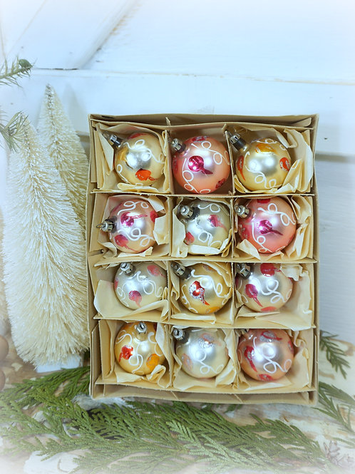 Box Dozen Christmas Ornaments