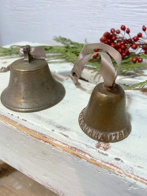 Antique Brass Sleigh Bells
