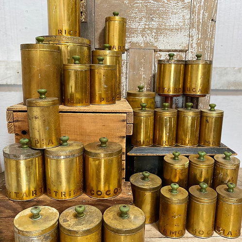 1920 Antique Canisters