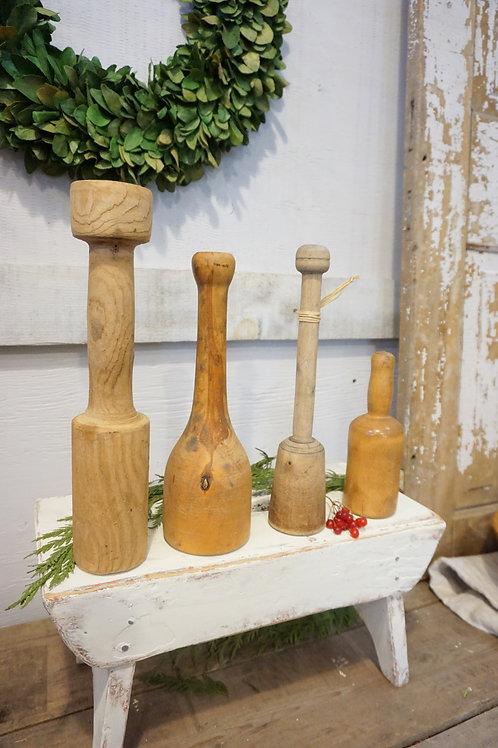 Primitive Wooden Mashers