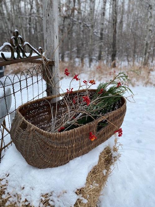 Antique Primitive Basket