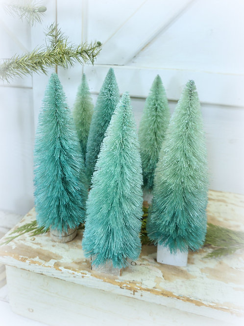 Ombre Hand Dyed Trees