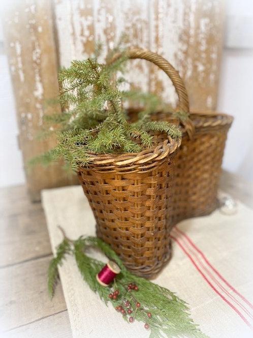 Early  Primitive Contoured Basket