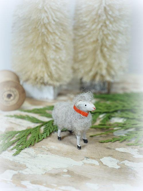 Antique German Wooly Sheep