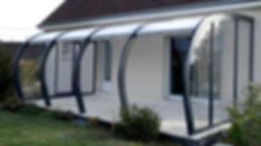 Veranda / abris terrasse aluminium coulissant ou bois fixe