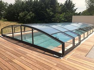 abris piscine bas coulissant alu veauche 42 abris de charme. Black Bedroom Furniture Sets. Home Design Ideas