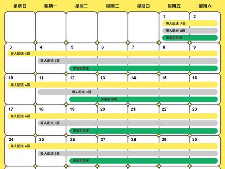 2017/12月配送日