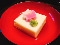 人気のごま豆腐(披露宴ver)