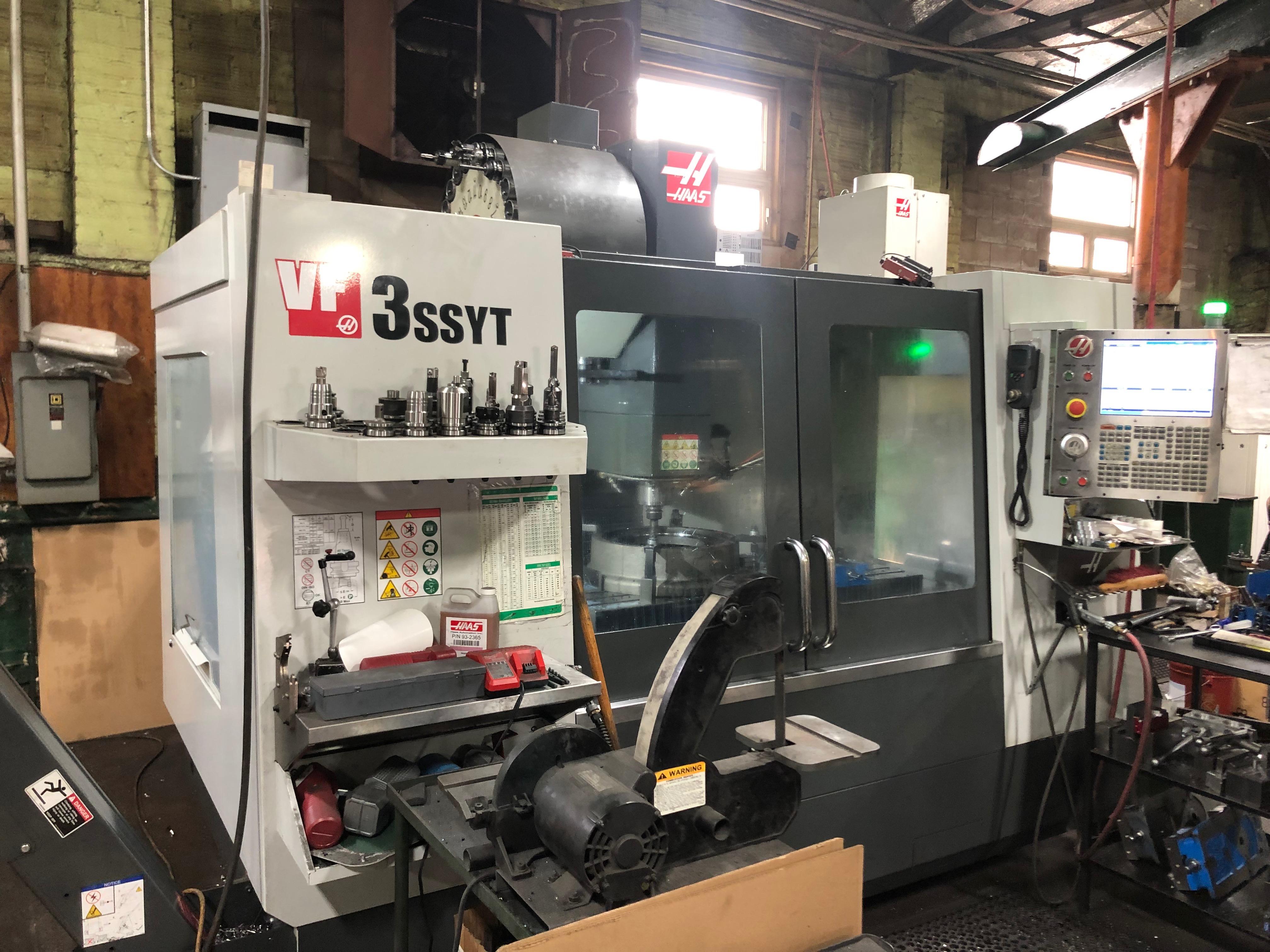 Haas VF3SSTY CNC MIll