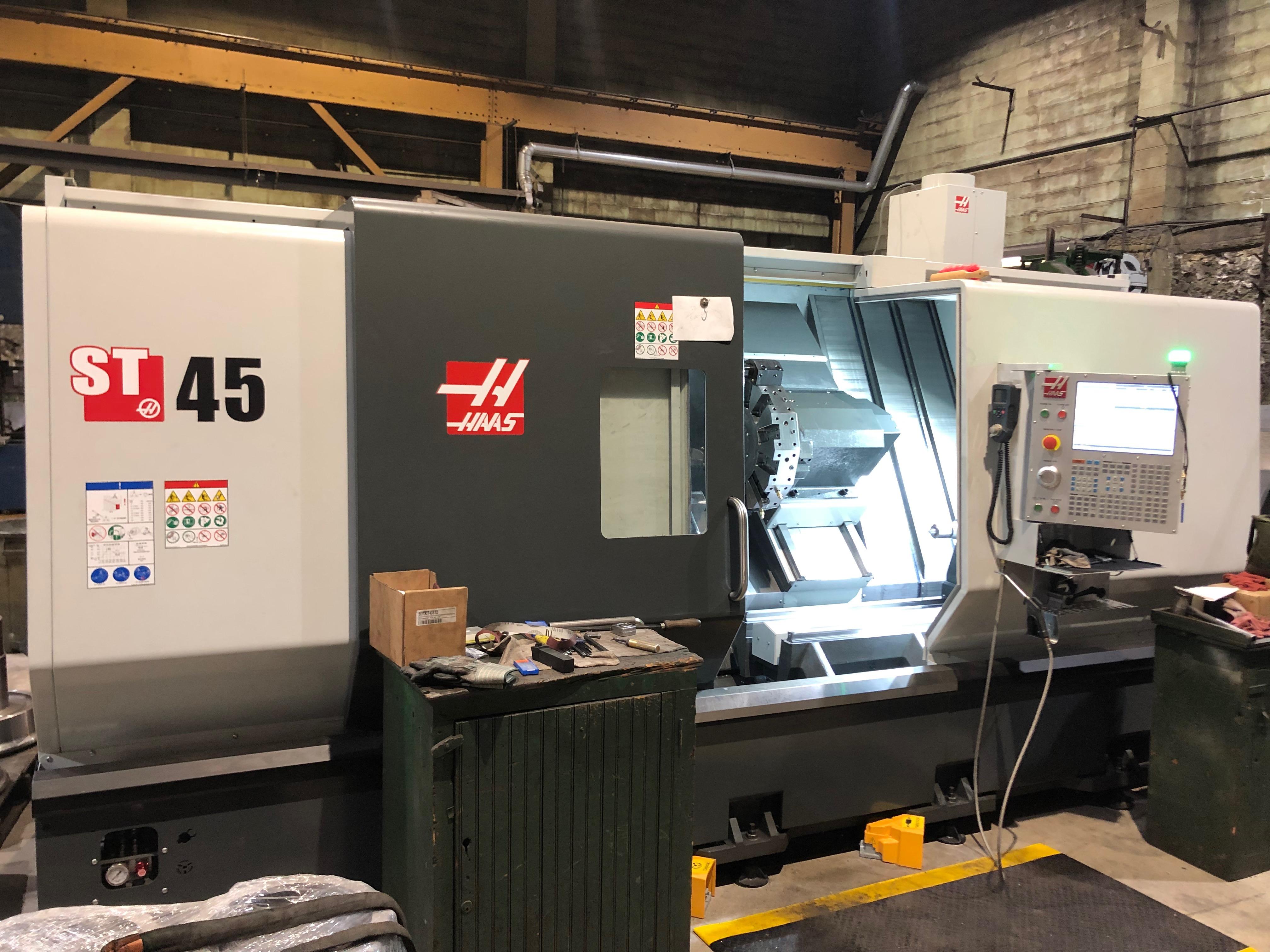 HAAS ST45 CNC Lathe