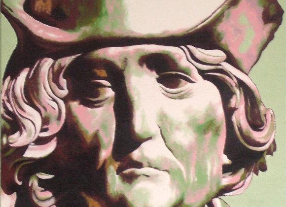Inspiré de l'autoportrait sculpté de Riemenschneider