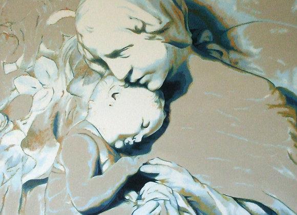 """Inspiré de la """"Madone avec l'Enfant"""" de Canonica"""