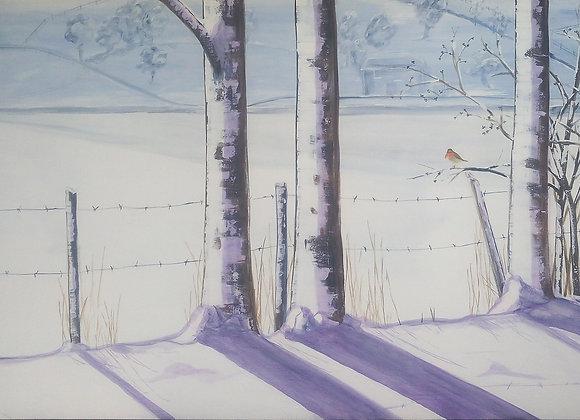 Un jour en hiver