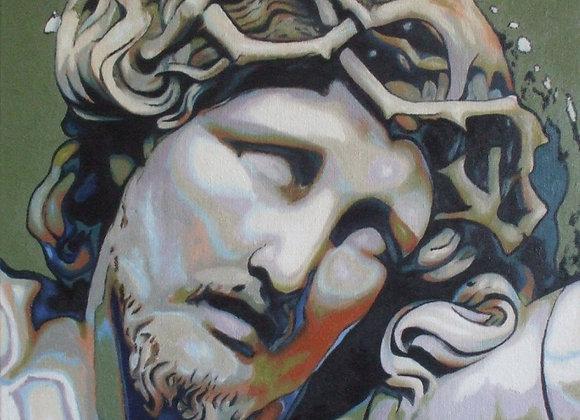 Inspiré du Christ en ivoire de Norest