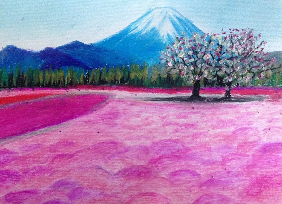 Mt Fuji landscape
