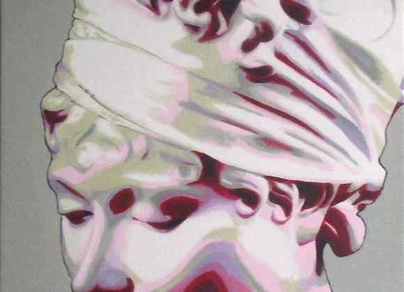 "Inspiré du ""Buste de Madame Recamier"" de Houdon"