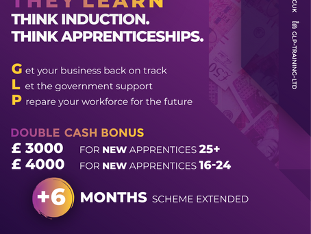 Earn while they learn. Great news after today's Budget announcement for Employers and Apprentices!