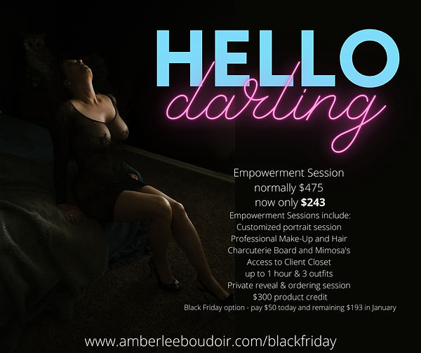 Empowerment Session normally $475 are no