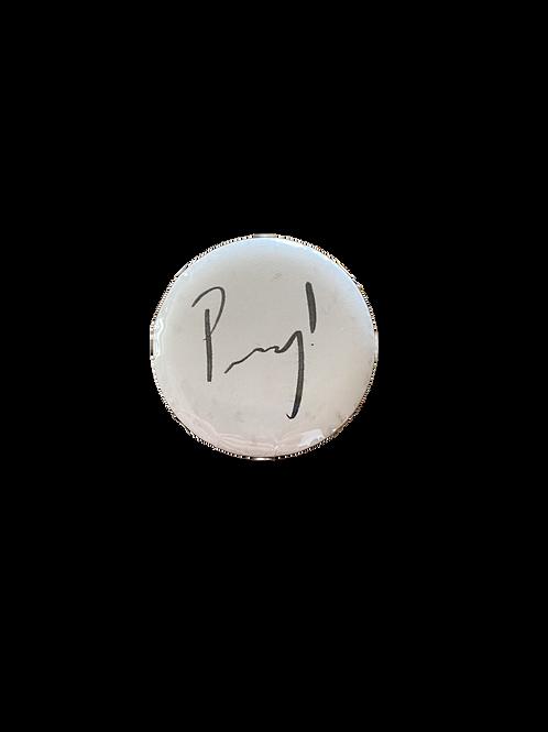 Peachy! Signature Pin (Small)