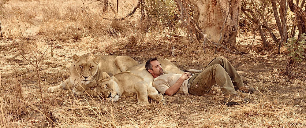 Ep. 1/4) Who is the 'Lion Whisperer'? Getting to know Kevin Richardso