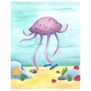 Ludi la méduse