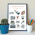 It's what I do print by Ruth Waters