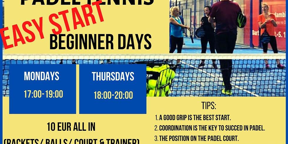 Thursday Padel Night 4 beginners