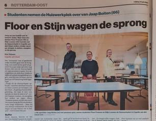 De Huiswerkplek in het Algemeen Dagblad