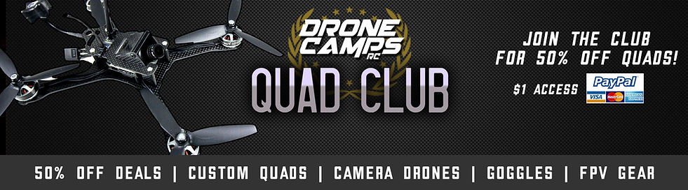 QUAD CLUB QAUD CLUB HEADER Drone camps rc