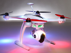 Includes LED Lights for night flying