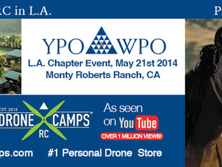 Drone Camps RC in L.A. this week!