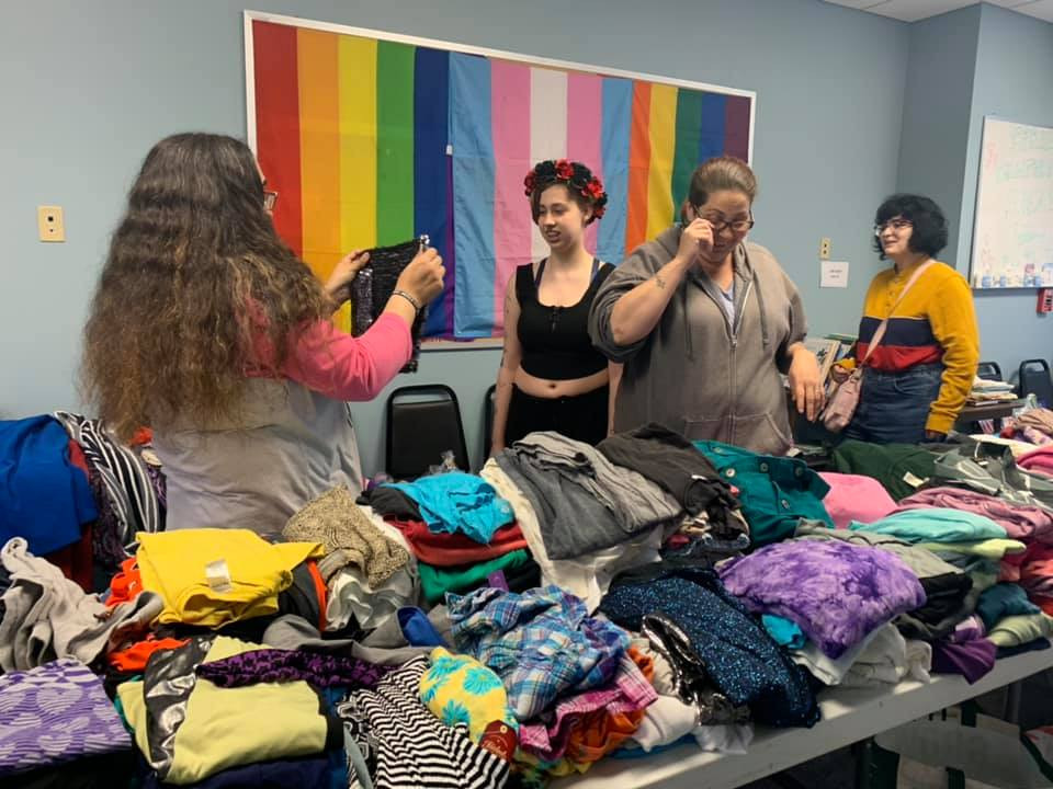 Queer Clothing Swap