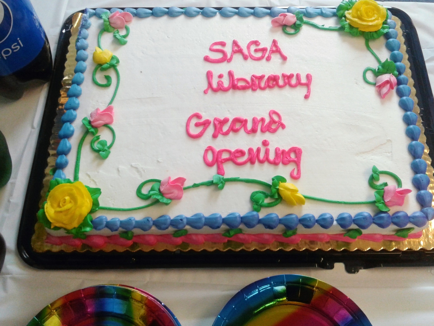 LGBTQ+ Library Grand Opening