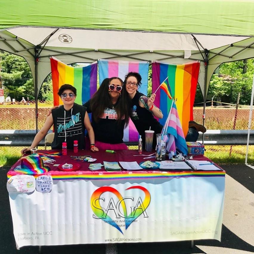 SAGA at Pride