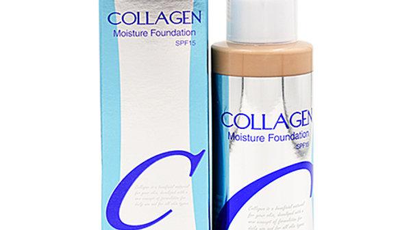 Enough Крем для лица тональный увлажняющий 21тон - Collagen moisture foundation