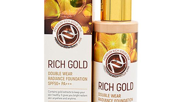 Enough Крем тональный с золотом - Rich gold double wear radiance foundation #13,