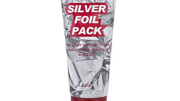 A'Pieu Маска-фольга серебряная - Silver foil pack, 60мл