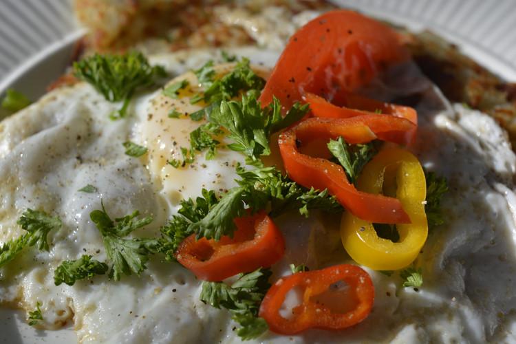 Roesti & egg