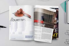 Magazine - Layout & Edit