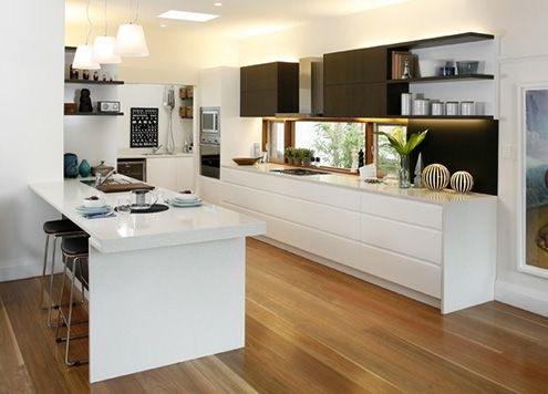 KITCHEN SPOTTED GUM