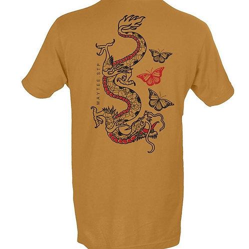 Dragon Butterflies t-shirt By Maytee Toledo Gomez