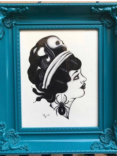 Gypsy Skull  By Maytee Toledo Gomez