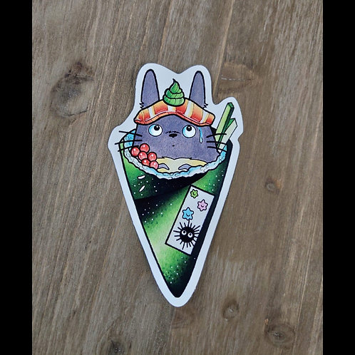 Toto hand roll sticker by Andy Cordero
