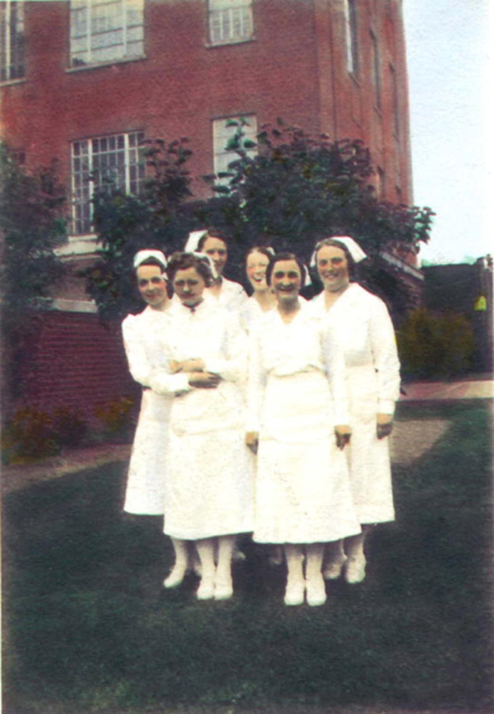 Nurses at Lakeshore Phychiatric Hospital 1927